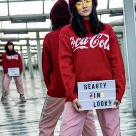 Свитер «CocaCola» Красный