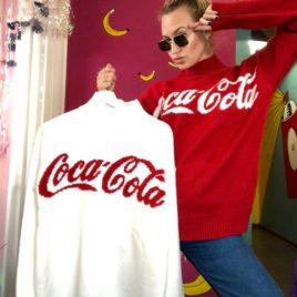 Свитер «CocaCola» Белый