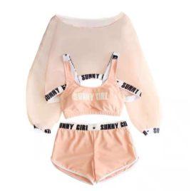 Комплект купальный Sunny girl Pink