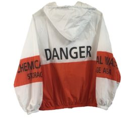 Бомбер спорт Danger orange