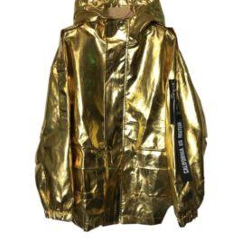 Куртка металлик эко-кожа GOLD