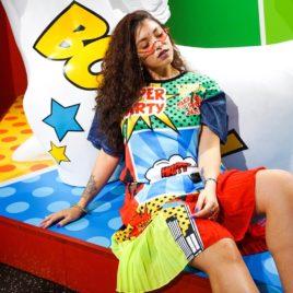 Платье Pop Art «Super Party»