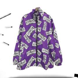 Бомбер CHILL фиолетовый